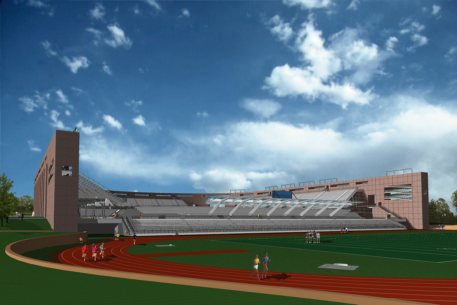 <strong>Princeton Stadium, Rafael Vinoli<span><b>view larger</b></span></strong><i>&rarr;</i>